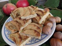 Apfelkuchen mit Haselnussmehl